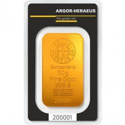 Sztaba złota LBMA  50 g 24H