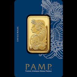 Sztaba złota PAMP 1 oz