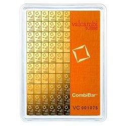 Sztaba złota VALCAMBI Combibar 100 x 1 g